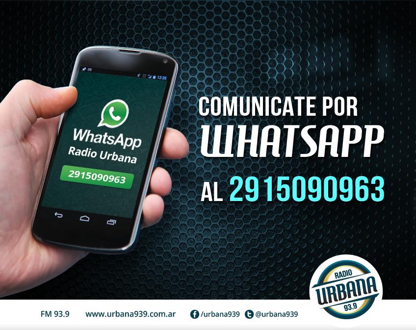 Comunicate por Whatsapp