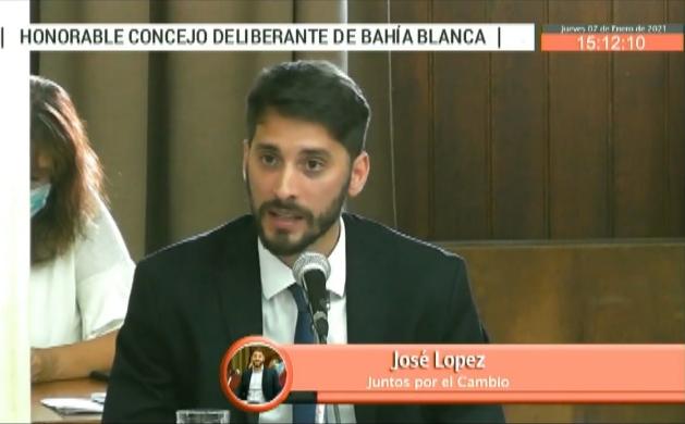 José López Concejal Juntos por el Cambio